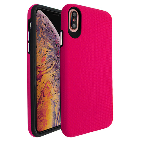 Pink Ibrido Tri Case for iPhone XS Max