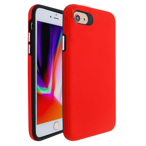 Red Ibrido Tri Case for iPhone 7/8