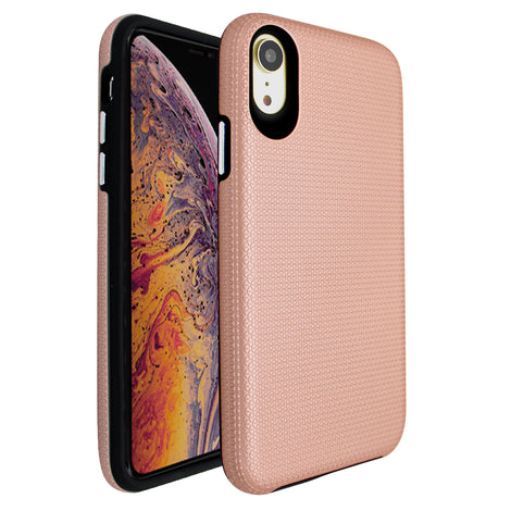 Rose Gold Ibrido Tri Case for iPhone XR