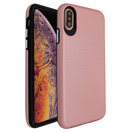 Rose Gold Ibrido Tri Case for iPhone X/XS