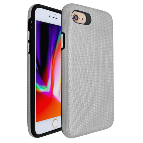 Silver Ibrido Tri Case for iPhone 7/8