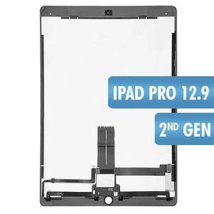 iPad Pro 12.9 2nd Gen Black LCD & Digitizer