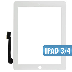 iPad 3/4 White Digitizer
