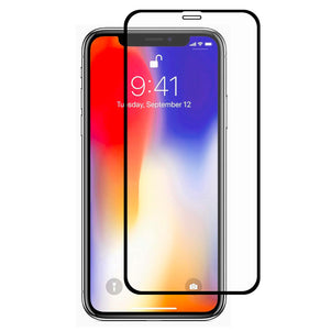 iPhone XR/11 Full Glue 9D Tempered Glass
