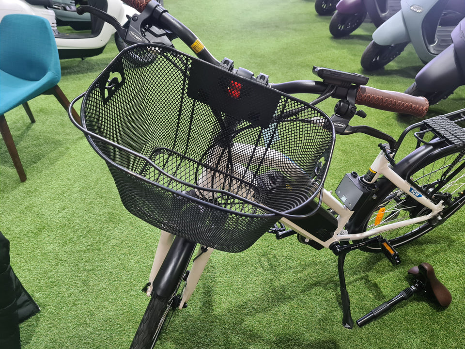 Carry Front Basket - Black Mesh