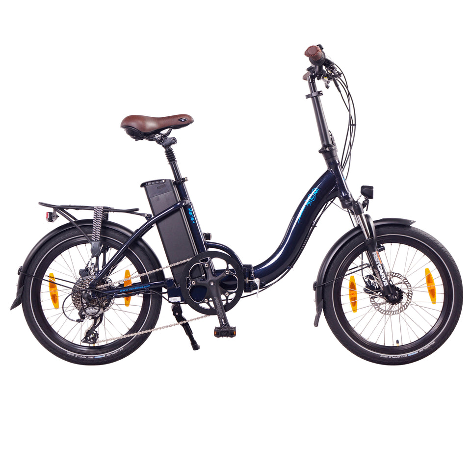 "NCM Paris+ (PLUS) Folding E-Bike, 250W, 36V 19Ah 684Wh Battery, [White 20""]"