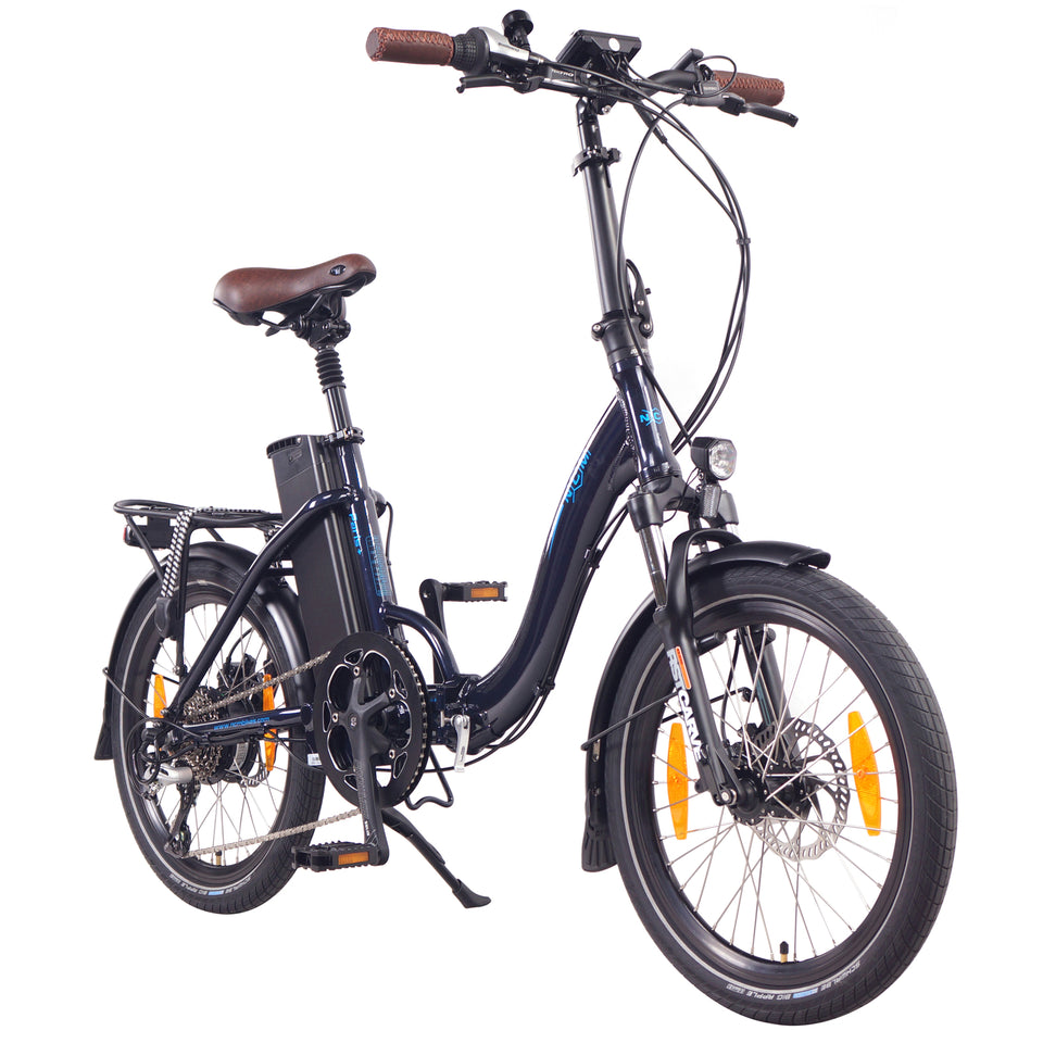 "NCM Paris (+Plus)  [White 20""] Folding E-Bike, 250W, 36V 19Ah 684Wh Battery"