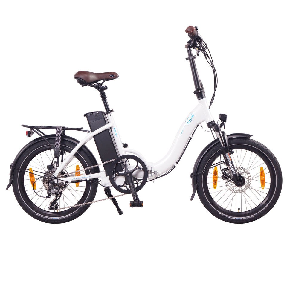 "NCM Paris (+Plus)  [20""] Folding E-Bike, 250W, 36V 19Ah 684Wh Battery"