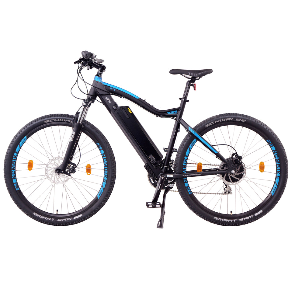 "NCM Moscow (+Plus) [29""] Electric Mountain Bike,E-Bike, 250W, E-MTB, 48V 16Ah 768Wh Battery"