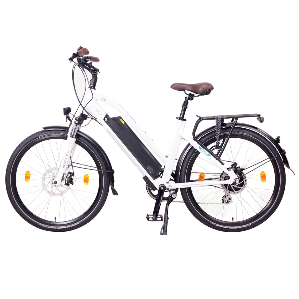 "NCM Milano [26"" and 28""] Trekking E-Bike, City-Bike, 250W, 48V 13Ah 624Wh Battery"