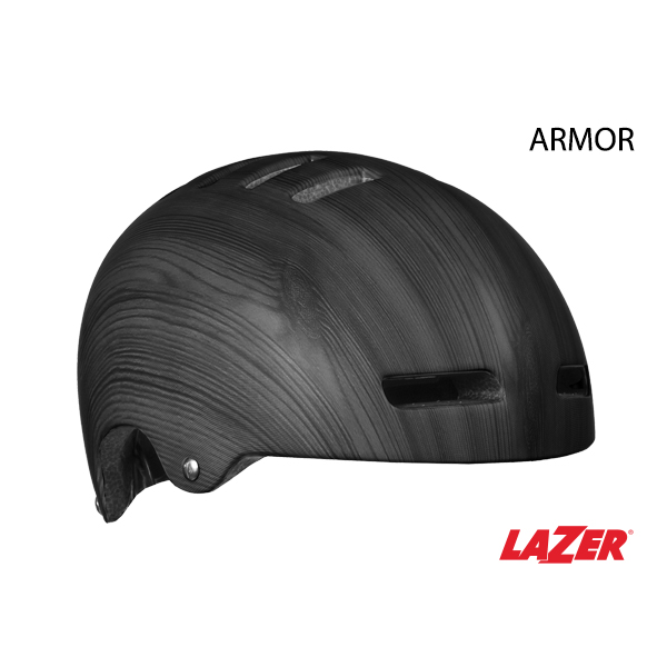 Lazer Helmet - Armor Matte Dark Wood Small