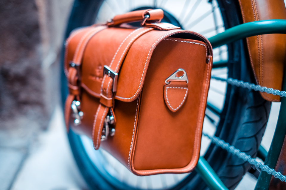 Rayvolt Cruzer Rear Leather Bag