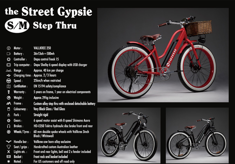 The Street Gypsie (Step Through in Style)