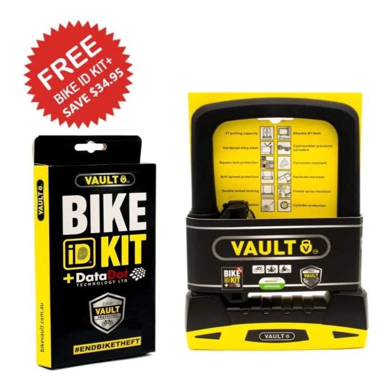 VAULT D Lock + Bike ID Kit+