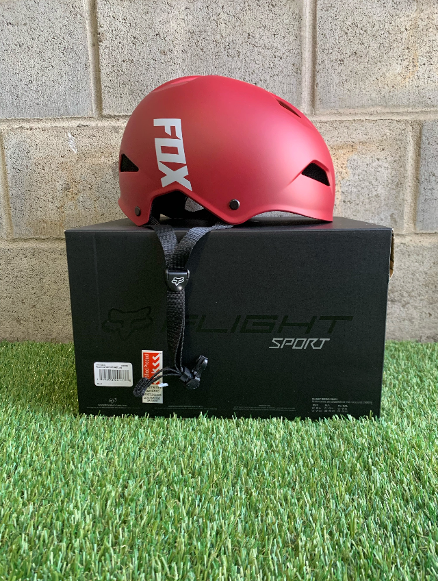 Fox Helmet - Dark Red SMALL