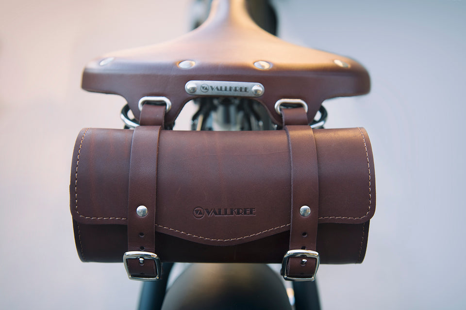 Vallkree Tool Bag in two vintage leather styles