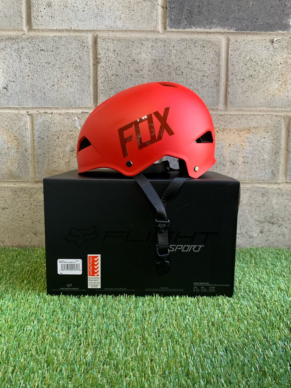 Fox Helmet - Matte Red Large