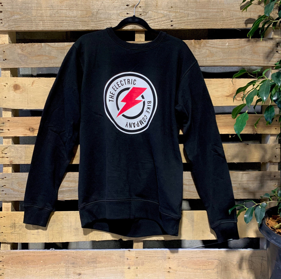 The Electric Bike Company Crew Neck Jumper