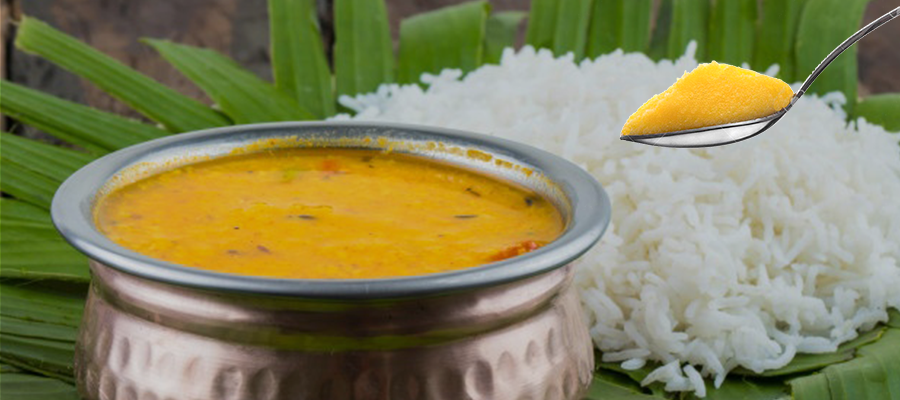 Eat Ghee-Rice-Dal Regularly