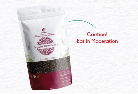 caution for chia seeds