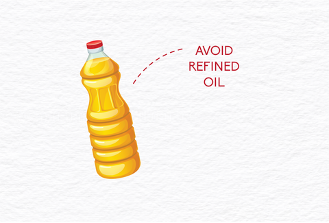 avoid refined oil