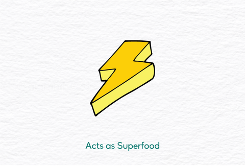 ghee acts as a superfood