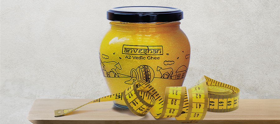Anveshan A2 Vedic ghee for weight loss