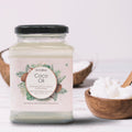 Coconut Oil Glass Jar - 250 ml - Anveshan Farm