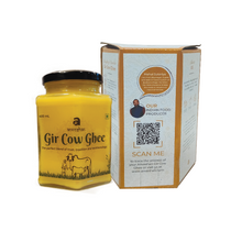 Load image into Gallery viewer, Anveshan Combo Pack of Gir Cow Ghee 400 ml and Vedic Hallikar Cow Ghee 500 ml - Anveshan Farm