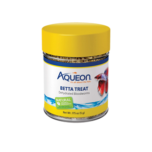 Aqueon Betta Dehydrated Bloodworm Treat