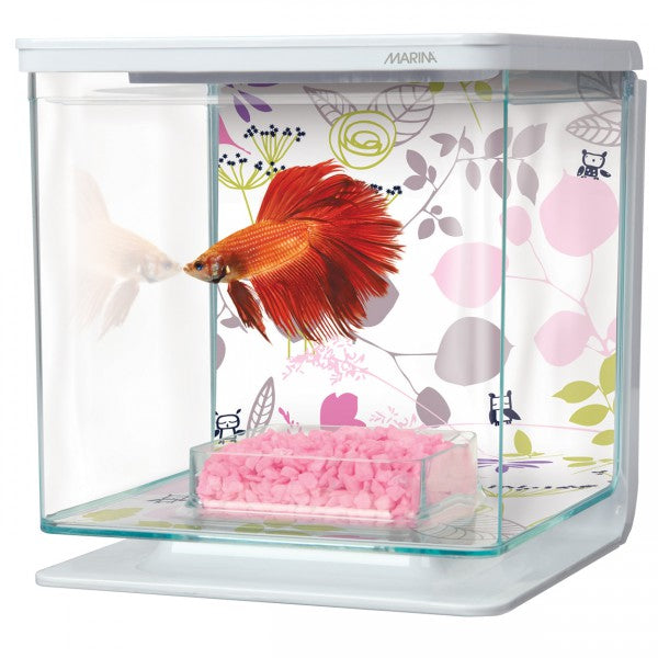 Marina 0.5 Gallon Betta Aquarium Starter Kit