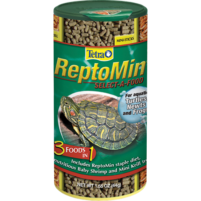 Tetra ReptoMin 3-In-1 Mini Sticks Select-A-Food
