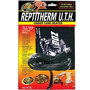 Zoo Med Reptitherm U.T.H. Under Tank Heater