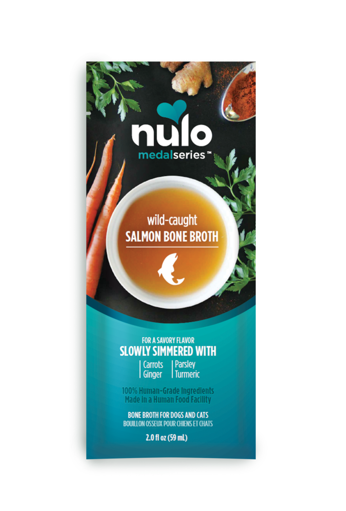 Nulo MedalSeries Wild-Caught Salmon Bone Broth