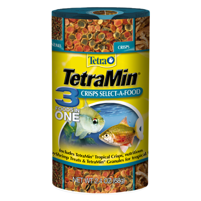 Tetra Min 3 Foods In One Crisps Select-A-Food