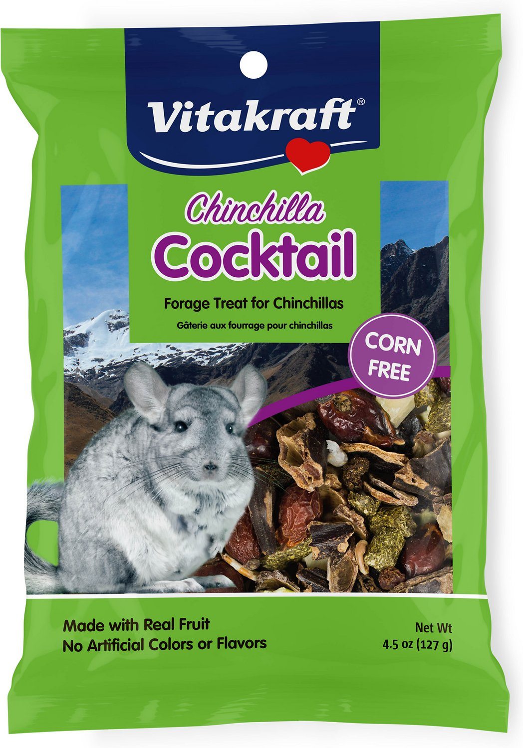 Vitakraft Chinchilla Cocktail Forage Treat