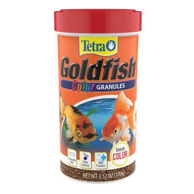 Tetra Goldfish Color Granules
