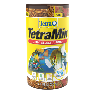 Tetra Min 3-In-1 Flakes Select-A-Food
