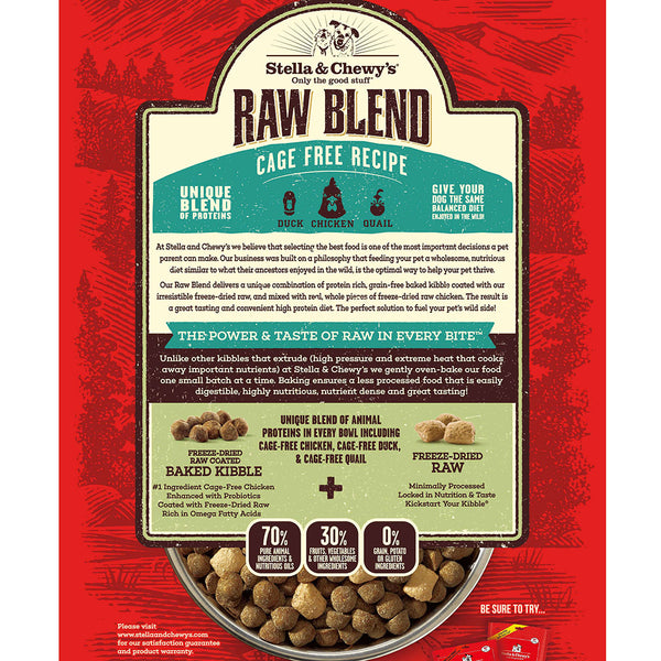 Stella & Chewy's Cage Free Recipe Raw Blend