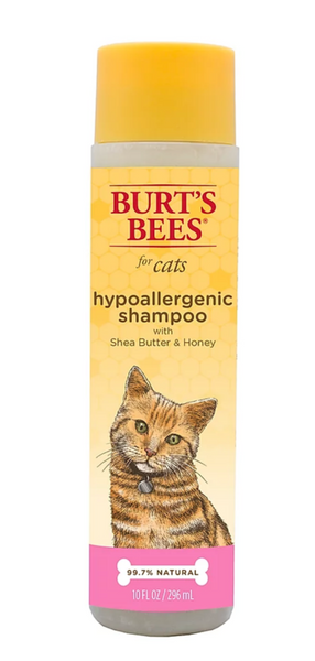 Burt's Bees Hypoallergenic Shampoo For Cats With Shea Butter & Honey