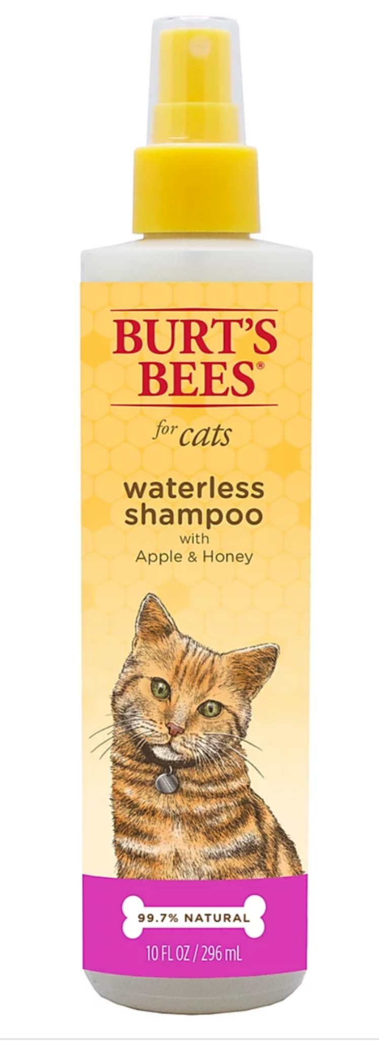 Burt's Bees Waterless Shampoo For Cats With Apple & Honey