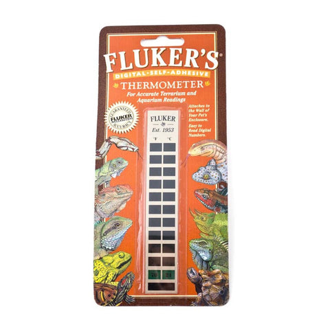 Fluker's Digital Self Adhesive Thermometer