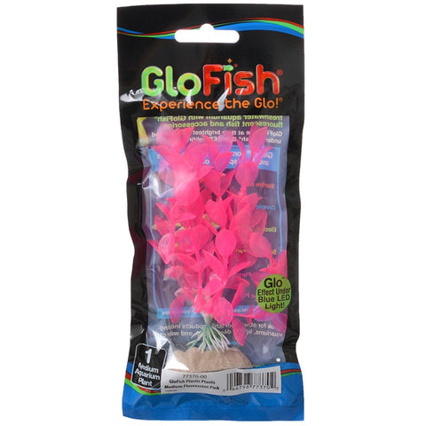 GloFish Artificial Pink Plant