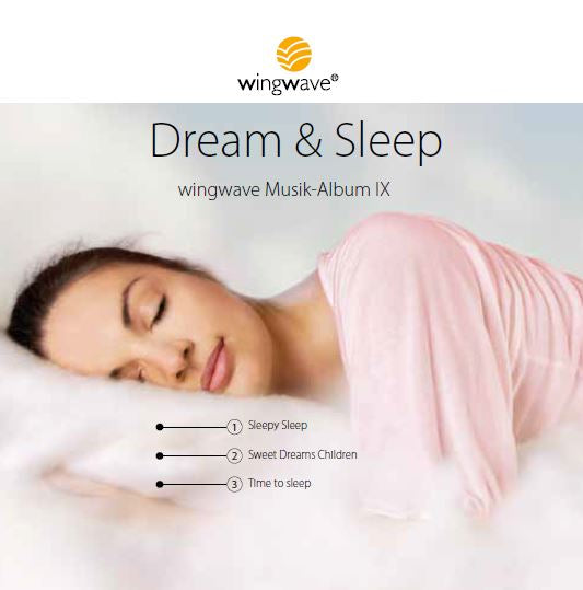"wingwave-musik-album 9 ""Dream & Sleep"" - CD"