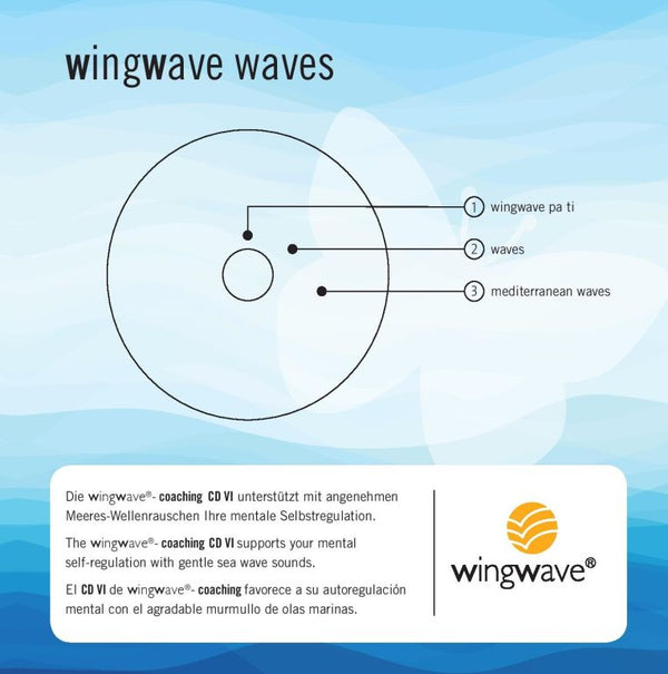 "Album musicale wingwave 6 ""wingwave waves"" - raccolta"