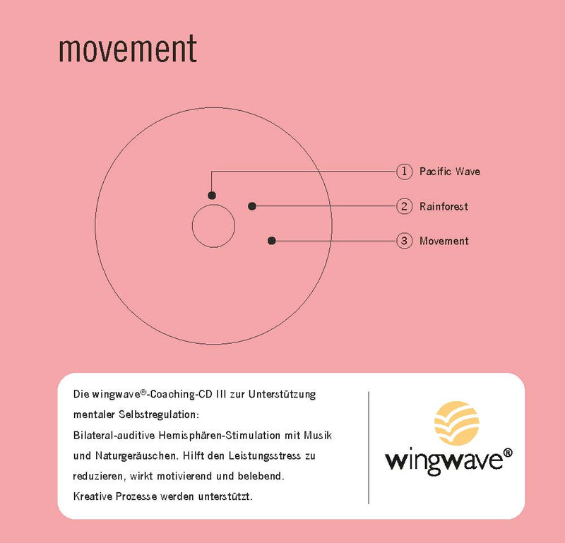 "wingwave-musik-album 3 ""movement"" - CD"