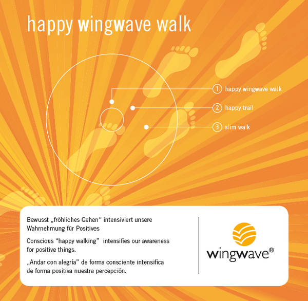 "**NEW**wingwave-musik-album 7 ""happy wingwave walk""**NEW**"