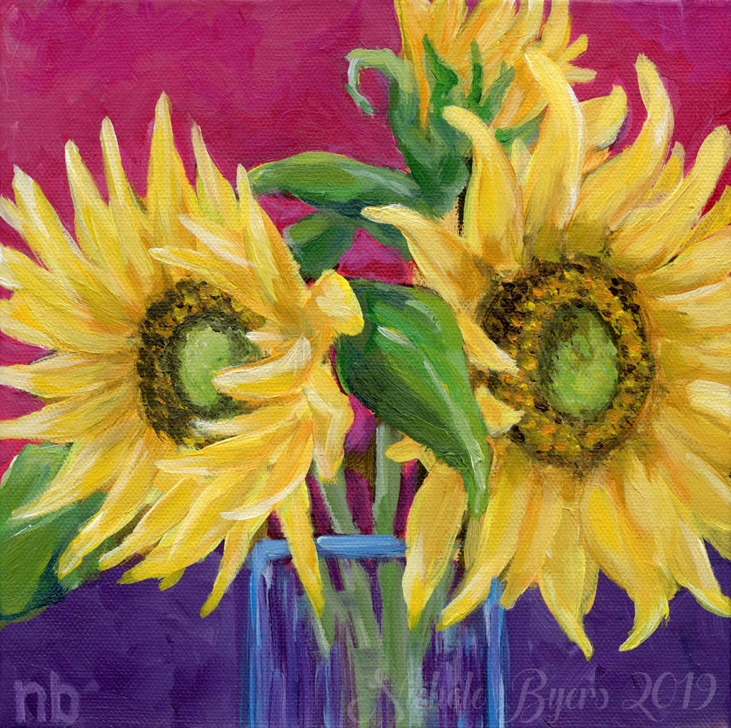 Art Print - Sunflowers #1
