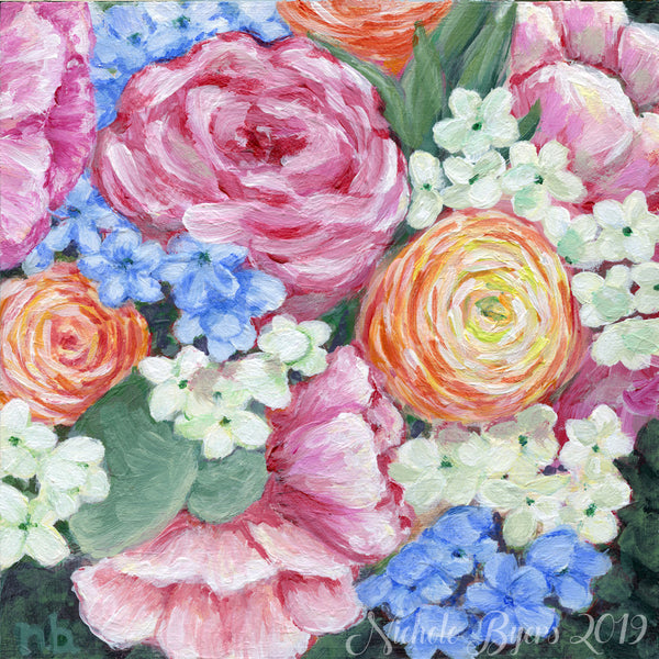 Art Print - Summer Bouquet