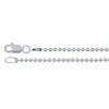 Sterling Silver Ball Chain Necklace - Delicate (1.5mm)